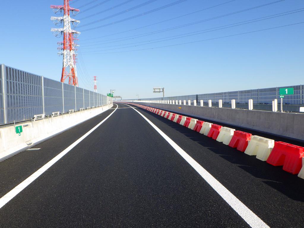 工事 道路 新 高速 東名 E1A 新東名高速道路(伊勢原大山IC-秦野IC)の進捗状況